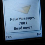 7001 New Messages?